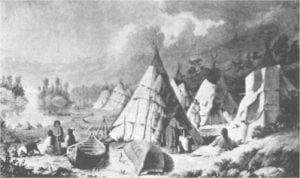 Encampment among the Islands of Lake Huron