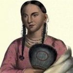 Rantchewaime, Female Flying Pigeon, Wife of Mahaskah, Ioway Indian