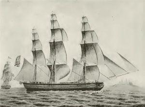 "Ship ""Arbella,"" Robert C. Hooper"
