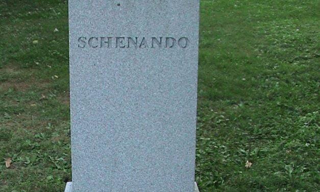 Skenandoah's Grave, Hamilton College, Clinton, New York