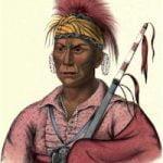 Tahrohon, An Ioway Warrior