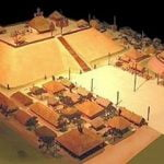 The Great Temple Mound at Ocmulgee & acropolis dominated a 12 mile long cluster of villages.