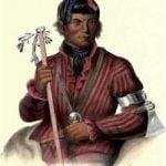 Tshizunhaukau, A Winnebago He who runs with the deer