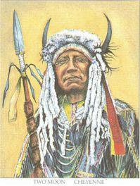 Chief Two Moon, Cheyenne