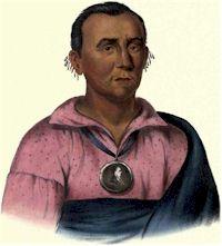 Watchemonne, Ioway Chief