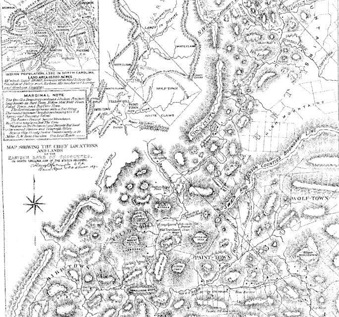 Map Of Western North Carolina Access Genealogy