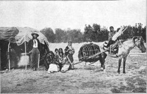 Cheyenne Stump Horse and Family