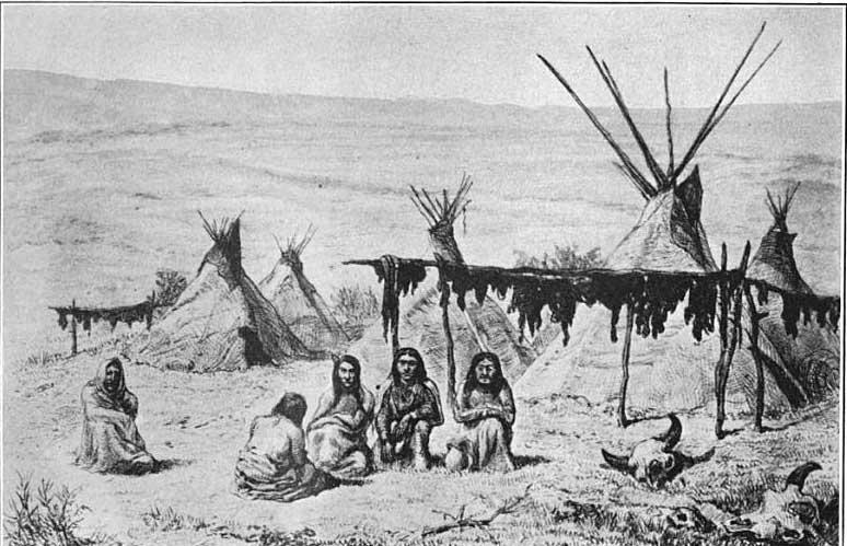 Houses of the Oglala Tribe