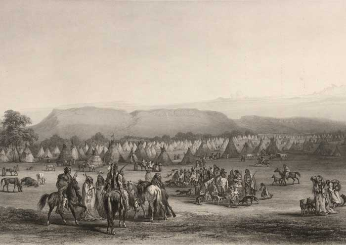 Houses of the Blackfoot Confederacy