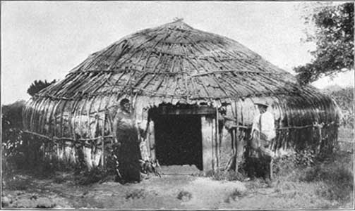 Houses of the Kansa Tribe