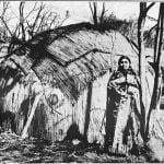 Sauk and Fox Mat covered lodges