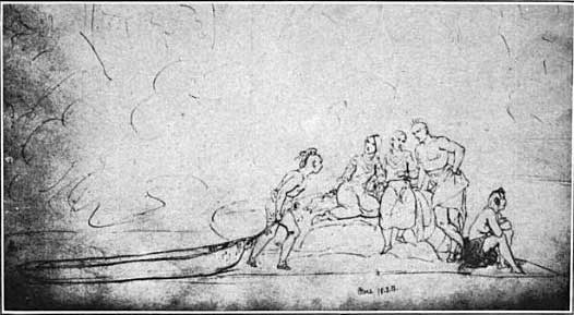 Houses of the Oto Tribe