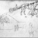 Page of Kurz's sketchbook