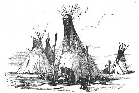 Houses of the Yankton Tribe