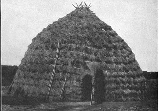 Houses of the Wichita Tribe