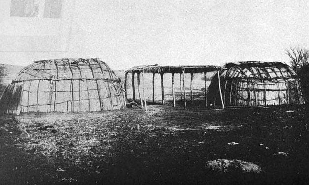 Houses of the Winnebago Tribe