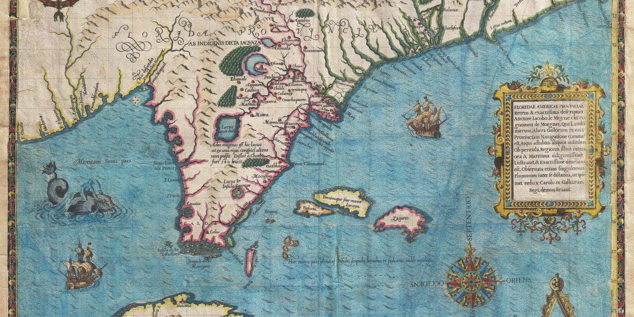 De Bry's Map of 1561