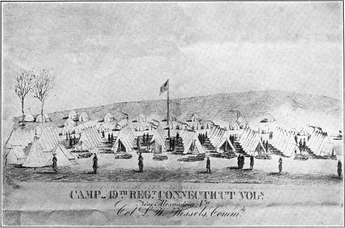 Encampment in Virginia