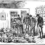 Interior of the morgue