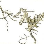 Map of Johnstown Flood