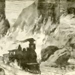 Locomotives swimming in the torrent