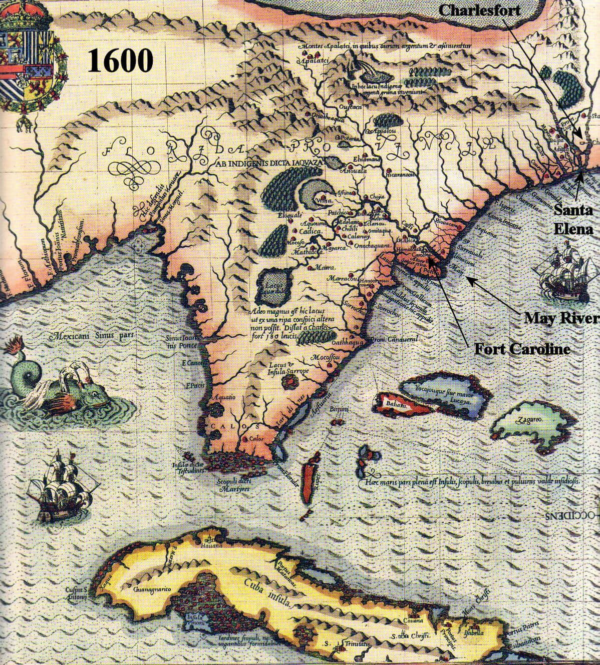 Historical Maps Of Southeast United States Access Genealogy - River maps of southeast us