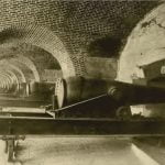 Casemates of the Fort Monroe, as they were during the Civil War