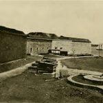 Harbor side, Fort Independence, Boston Massachusetts