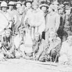 Group of Assinaboine Sioux, Squaw Men and Officials