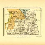 Northern Alabama Land Cessions Map