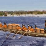 Chontal cargo boat