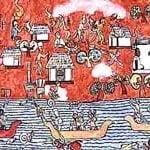 Itza Maya Mural