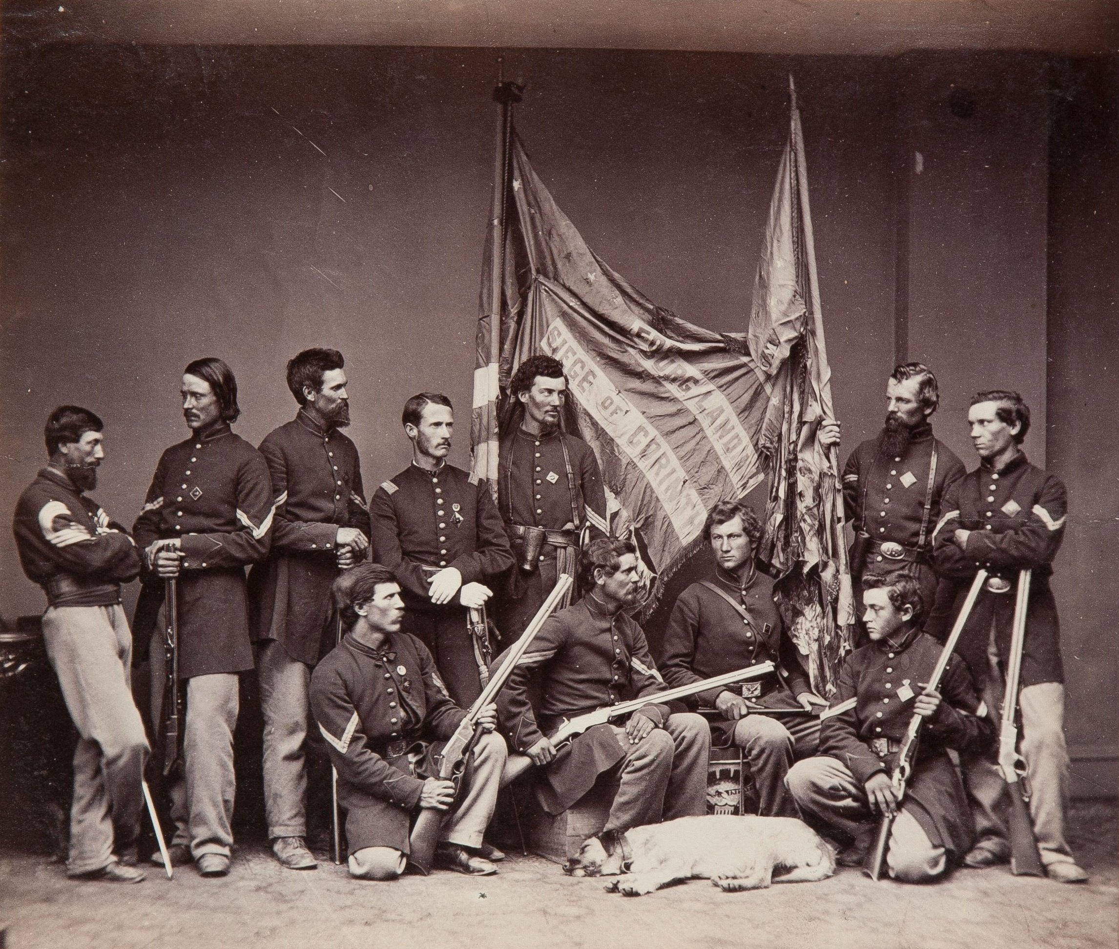 an analysis of the colours of a civil war regiment Black soldiers in the civil war in the fall of 1862 there were at least three union regiments of african americans raised in new document analysis worksheet.