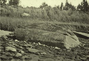 Dighton Rock Photograph