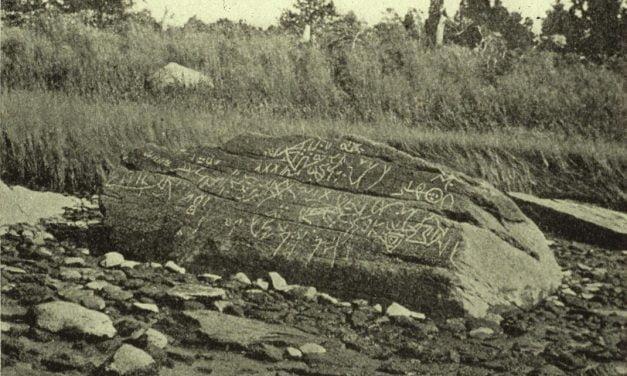 Dighton Rock Inscriptions