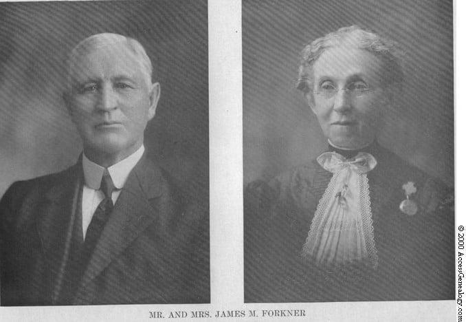 Biography of James Marion Forkner