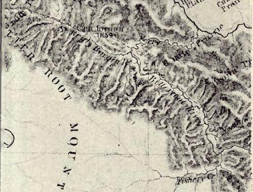 Section Map of Captain John Mullan