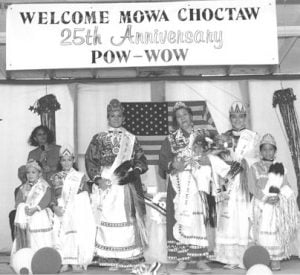 MOWA Choctaw Powwow Pageant