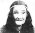 "Viney Reed Taylor, grandmother of Chief Wilford ""Longhair"" Taylor. The lives and culture of their generations document the persistence of the south Alabama Choctaws through the mid- and late nineteenth century. (Courtesy of MOWA Choctaw Cultural Center)"