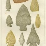 Indian Arrowheads - Plate 17