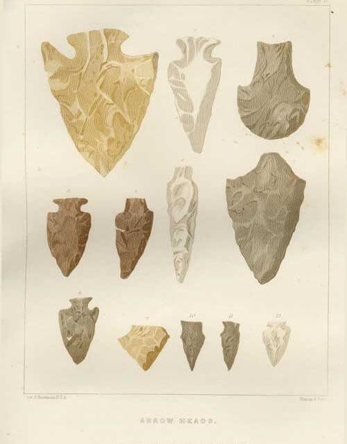 Indian Arrowheads