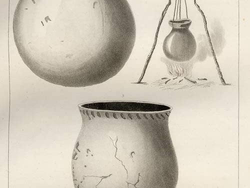 Funeral Food Vase