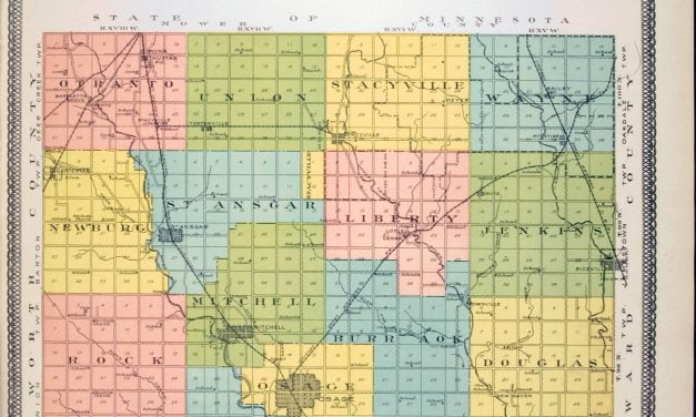 1911 Standard Historical Atlas of Mitchell County, Iowa