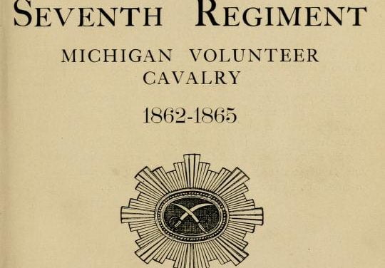 History of the 7th Michigan Cavalry