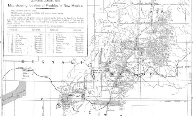 Condition of the New Mexico Indians in 1890