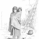 A Pueblo Woman and child