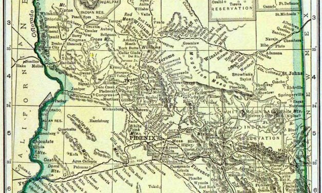 1910 Arizona Census Map