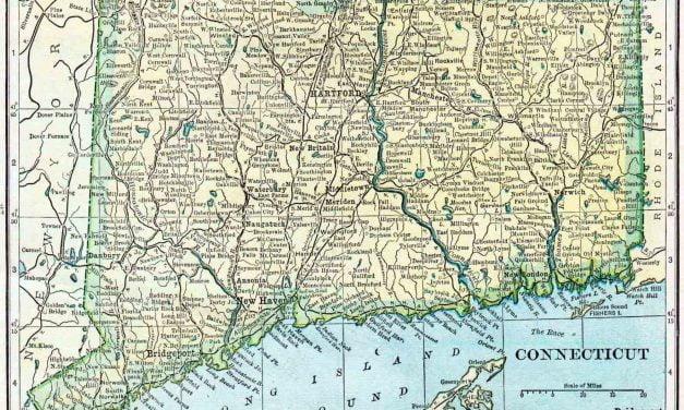 1910 Connecticut Census Map