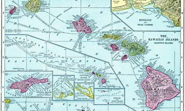 1910 Hawaii Census Map