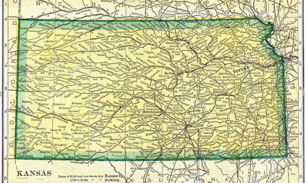 1910 Kansas Census Map